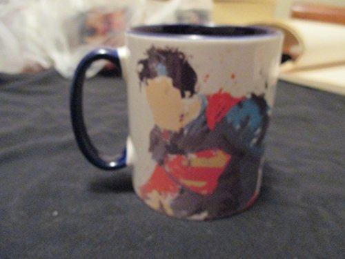 Custom Mug Of Superman(Faceless) Color Blue Mug' Pat Payton'Approved Dealer