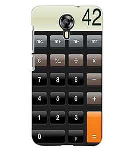 ColourCraft Calculator Design Back Case Cover for MICROMAX CANVAS XPRESS 2 E313