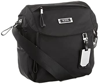 途米Tumi Luggage Voyageur Lugano Messenger Bag单肩携款包黑色中码 $148