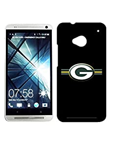 Green Bay Packer Htc One M7 Cover Sports Logo Printed Football Series Fantastic Style Anti-dust Case Fits Htc One M7 (MarkArtShop Type074) ,Show Your Unique Personality