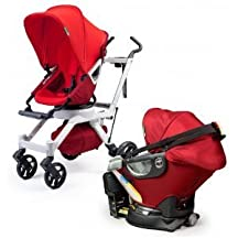 Orbit Travel System G2 with Stroller Seat, Ruby Slate