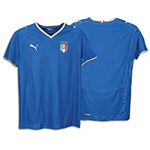 PUMA Italy Home Authentic Jersey 08/10 ROYAL