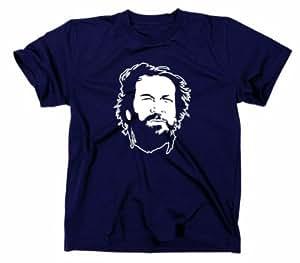 2# Bud Spencer Kult T-Shirt, Che Guevara, marineblau, S