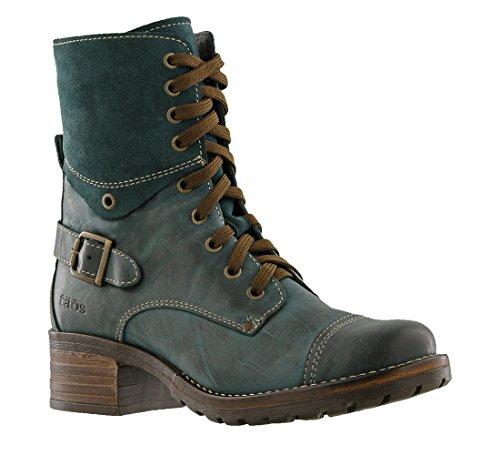 Taos Women's Crave Combat Boot, Teal, 40 EU/9-9.5 M US (Boots Footwear)