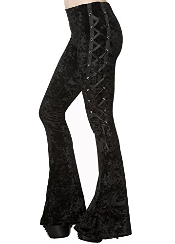 Banned Spettrale ritorno Flare Leggings - Black / XS
