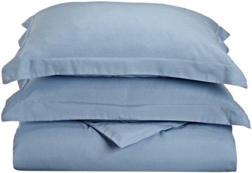 Impressions 1500 Series Wrinkle Resistant King/California King Duvet Cover 3-Pc Set Solid, Light Blue front-449719