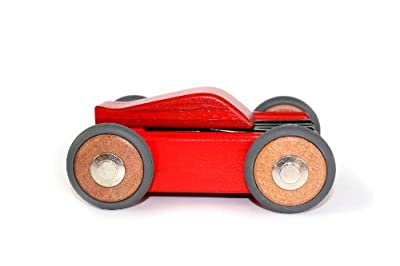 Buy Tegu Dart 15 Piece Magnetic Wooden Block Car toy