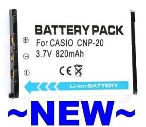 Battery NP-20 For Casio Exilim Zoom EX-Z11, EX-Z12, EX-Z4, EX-Z5, EX-Z65, EX-Z8, EX-Z3, EX-Z4U, EX-Z60, EX-Z70, EX-Z75, EX-Z77
