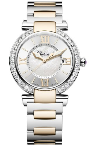 Chopard Imperiale Silver Dial Steel and Rose Gold Ladies Watch 388532-6004