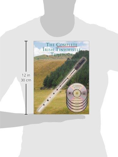 The complete Irish tinwhistle tunebook (4CD audio) (Oak Classic Pennywhistles)