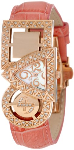 Swisstek SK21911L Limited Edition Swiss White Diamond Watch With Interchangeable Leather Strap And Sapphire Crystal