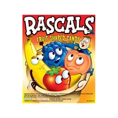 Amazon.com : RASCALS Fruit Candy (10 pound bag) : Hard Candy : Grocery