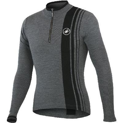 Buy Low Price Castelli 2012/13 Men's Costante Wool Long Sleeve Cycling Jersey – A11563 (B005JVWS3M)