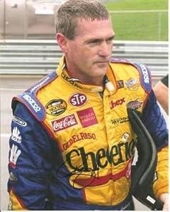 Autographed Labonte Photo - 8x10 - Autographed NASCAR Photos by Sports Memorabilia