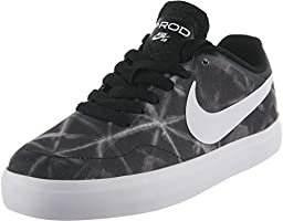 Nike PAUL RODRIGUEZ CTD LR CNVS GS boys skateboarding-shoes 685281-011_6Y - BLACK/ANTHRACITE/WHITE