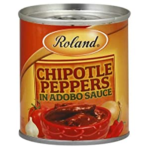 Roland  Chipotle Peppers in Adobo Sauce- 7Oz