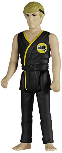 Funko 018493Reaction: The Karate Kid Johnny Lawrence Action Figure, 9,5cm