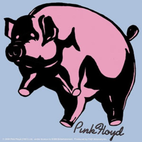Licenses Products Pink Floyd Pig Sticker