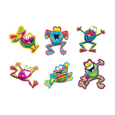 Trend Enterprises Inc Frog-tastic Classic Accents Variety Pack T10969