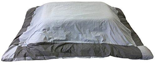 こたつ布団カバー [シャンブレー(霜降り調)] 長方形 グレー/チャコールグレー SB-C205245-GY