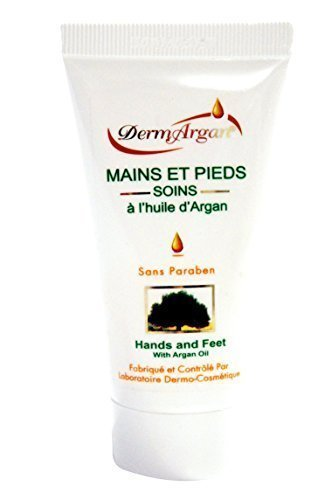 Hand Cream with Organic Argan Oil, Cream for feet, hands and nails, 50ml
