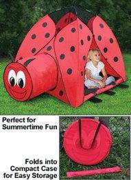 Jumbo Ladybug Tent with Carrying Case & Jumbo Ladybug Tent with Carrying Case | shopswell