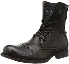 Bunker Tar, Boots homme - Noir (Black), 42 EU