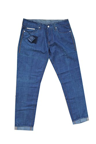 Paolo Pecora Milano Jeans Denim Uomo Tg 52 Made in Italy