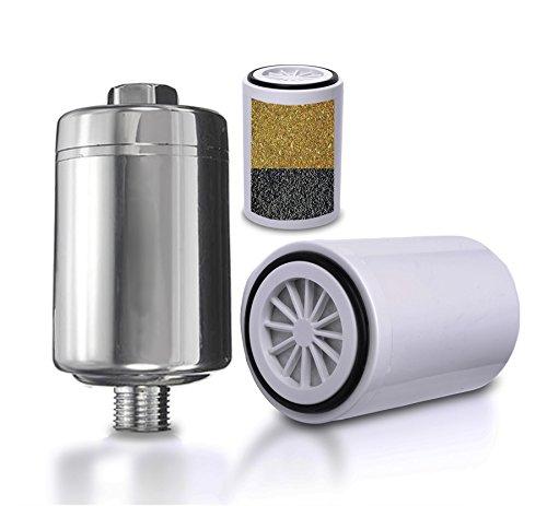 save 29 shower filter system universal chlorine removing showerhead hard water softener. Black Bedroom Furniture Sets. Home Design Ideas