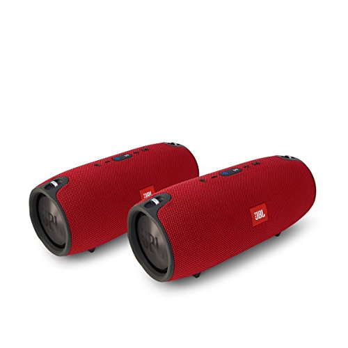 Click to buy JBL Xtreme Portable Wireless Bluetooth Speakers - Pair (Red) - From only $499.95