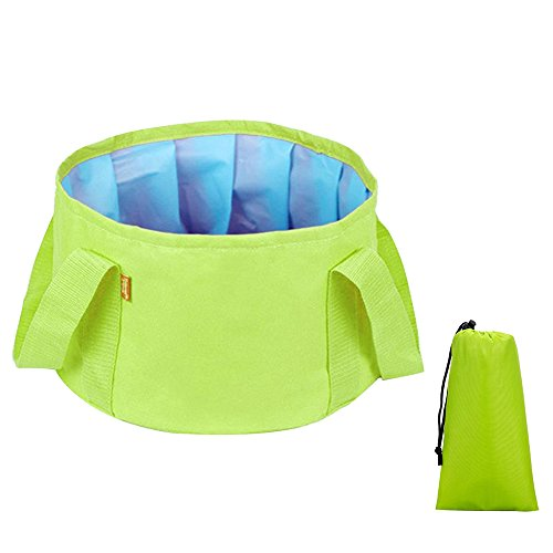 Baiyu-15L-Portable-Folding-Washbasin-Bucket-Foldable-Wash-Basin-Outdoor-Footbath-Water-Bowl-Storage-Pouch-with-Carry-Bag-for-Camping-Travel-Washing-Fishing-Lightweight-600D-Oxford-PEVA-Container