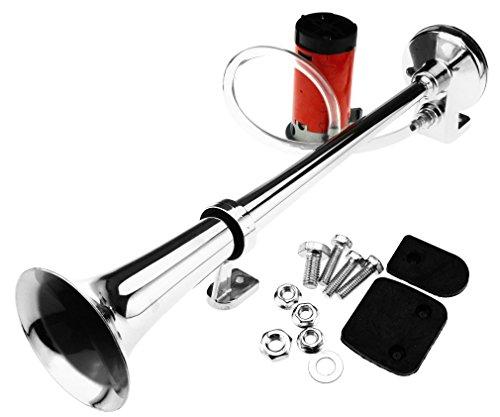 Hupe-einzeln-Rohr-12V-130db-Luft-Kompressor-Motorrad-Auto-Boot