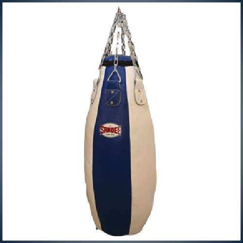 Sandee - Tear Drop Punch Bag - Blue & White (For Boxing, MMA, UFC, Muay Thai)