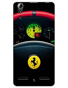 Ferrari Steering Wheel case for Lenovo A6000