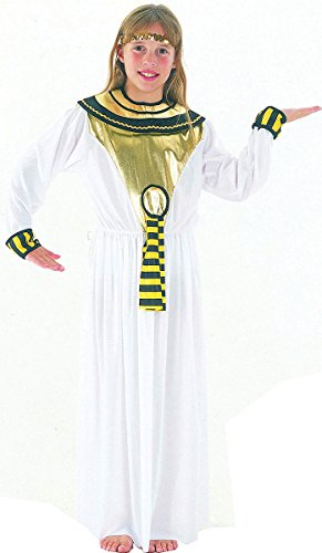 Costume da dea egizia/Cleopatra per bambina 10-13
