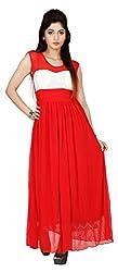 Comix Square Neck Womens Maxi Dress