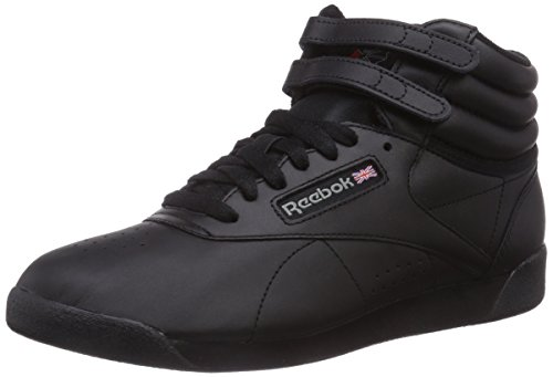 Reebok Freestyle Hi, Sneakers da Donna, Nero, 38