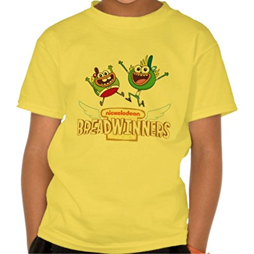 Breadwinners  Logo Tee - Youth - YellowBreadwinners Logo