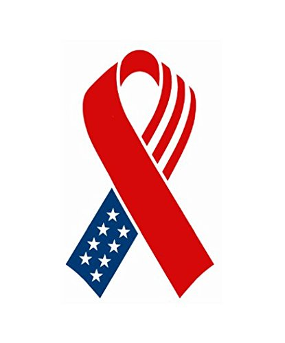 USA Flag, 9/11, 4th of July Ribbon