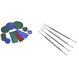 11Pc Jewelry Jewelers Wax Assortment & 4 Double Ended Carvers Carving Tools