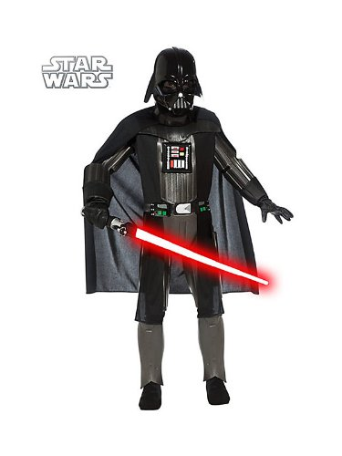 Deluxe Darth Vader Costume for Boys