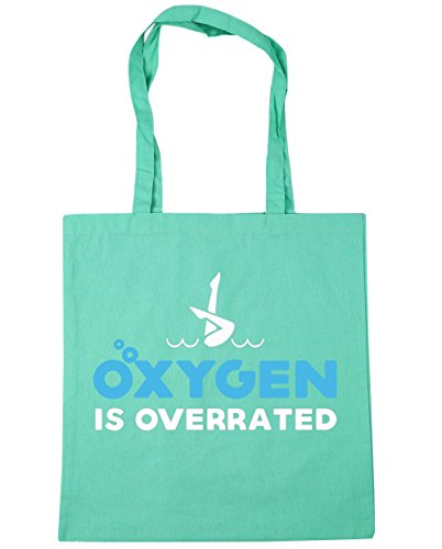 hippowarehouse-oxygen-is-overrated-synchronized-tote-shopping-gym-beach-bag-42cm-x38cm-10-litres