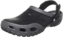 Crocs Unisex Yukon Sport Leather Clogs and Mules