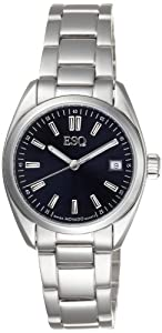 ESQ Movado Women's 07101359 Sport Classic Stainless-Steel Blue Round Dial Watch
