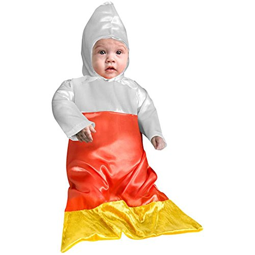 Baby Candy Corn Halloween Costume (Size:6 Months)