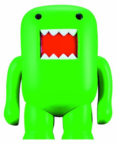 "4"" Domo Vinyl Figure: Black Light Green - 1"