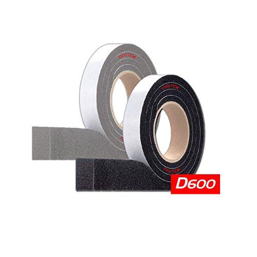 Kompriband D600 Grau 1 Rolle Größe: 20/9 - 15mm - 2m Fugendichtband Dichtungsband Dichtband Quellband