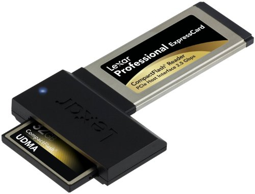 Lexar Professional Express Card Compact Flash Reader