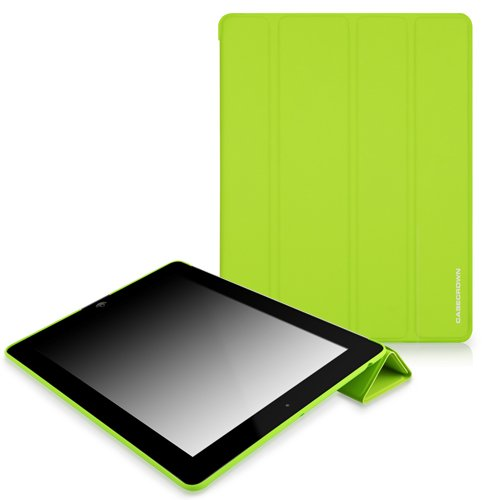 CaseCrown Omni Cover Case (Green) for iPad 4th Generation with Retina Display, iPad 3 & iPad 2 (Built-in magnet for sleep / wake feature)