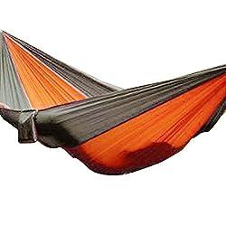 Ultralight Parachute Cloth Outdoor Adult Children Double Hammock Swing Bed